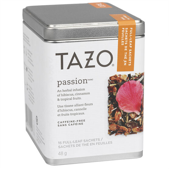 Tazo Tea Passion Tin - 15's