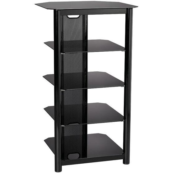 Everik EverStyle Five Shelf Audio Stand - Black - ES-AV004