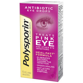 Polysporin Antibiotic Eye and Ear Drops - 15ml