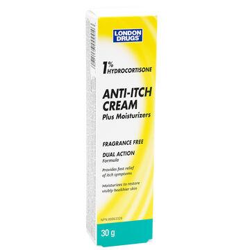London Drugs Anti-Itch Cream - 1% Hydrocortisone - 30g