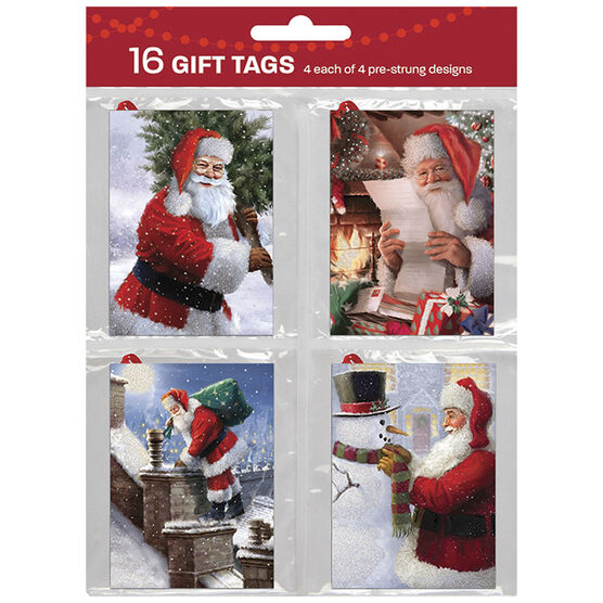 Christmas Holiday Quartets Gift Tags - 921056AILND - Assorted