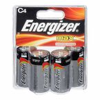 Energizer Max C Batteries - 4 pack