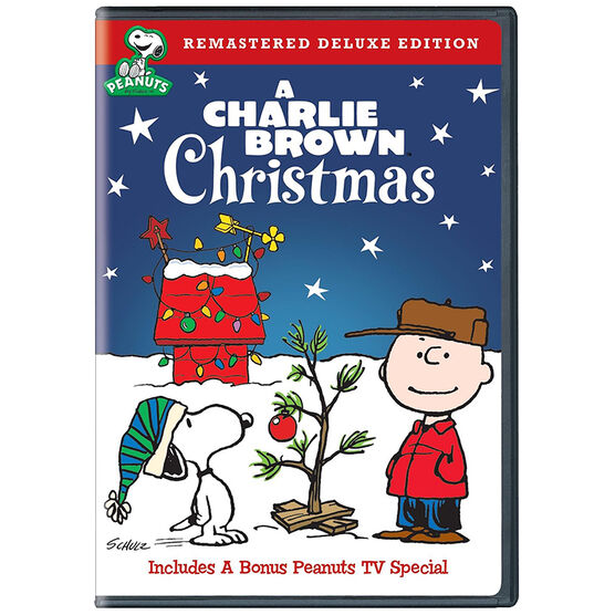 A Charlie Brown Christmas - Remastered Deluxe Edition - DVD