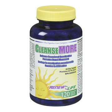 Renew Life Cleanse More - 120's