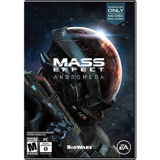 PRE-ORDER: PC Mass Effect Andromeda