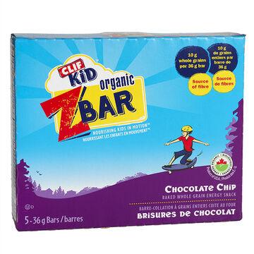 Clif Kid Organic Zbar - Chocolate Chip - 5 pack