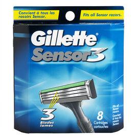 Gillette Sensor3 Blades - 8 blades
