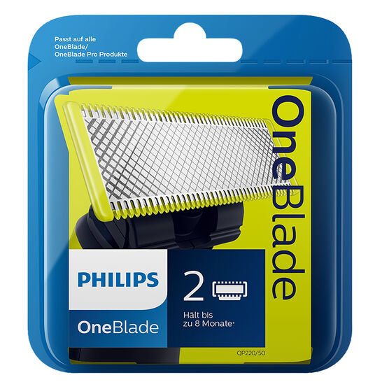 Philips OneBlade Replacement Blades - 2's - QP220/50