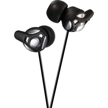 JVC High Clarity Headphones - Silver - HAFX40S