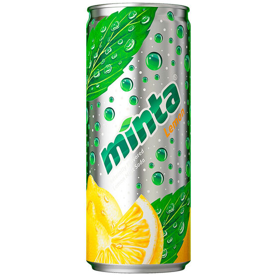 Minta Soda - Lemon Mint - 4 x 296ml