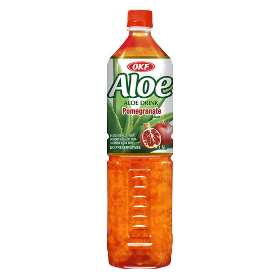 OKF Aloe Drink- Pomegranate - 1.5L
