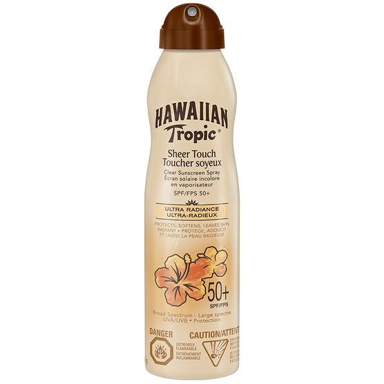 Hawaiian Tropic Sheer Touch Ultra Radiance Spray - SPF50+ - 170g
