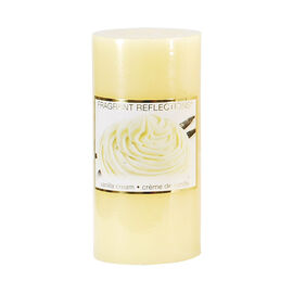 Fragrant Reflections Pillar Candle - Vanilla Cream - 6inch