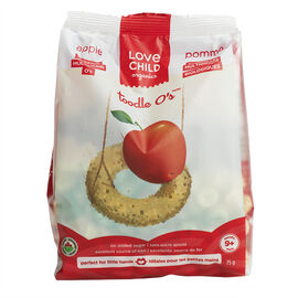 Love Child Organics Multigrain O's - Apple - 75g