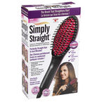 Supertek Simple Straight Ceramic Straightening Brush - 9383-8