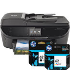 HP Envy 7640 e-All-in-One Printer and Ink Bundle