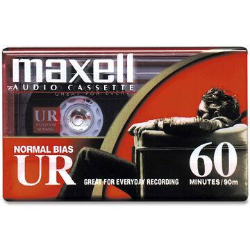 Maxell UR60 Cassette - Single
