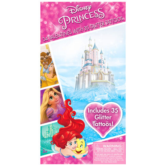 Disney Princess Valentines with Tattoos - 34s - 4152985