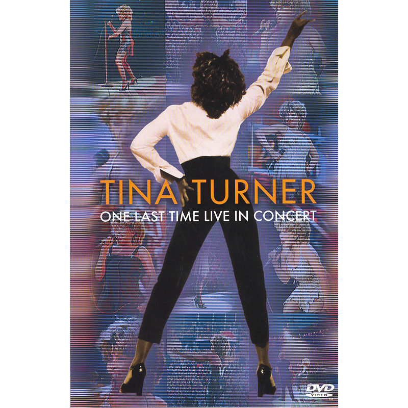 Tina turner one last time live in concert dvd