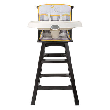 Summer Infant Classic Comfort Wood Highchair - Buffalo Check - 22493