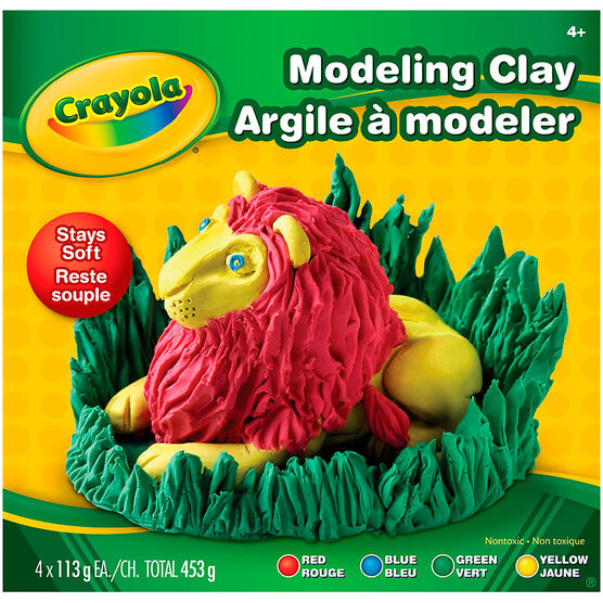 Crayola Modeling Clay - 4 Colours