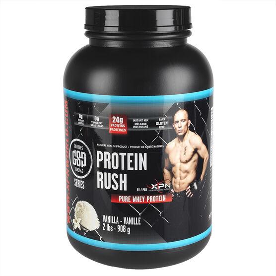 GSP Protein Rush Pure Whey Protein - Vanilla - 908g