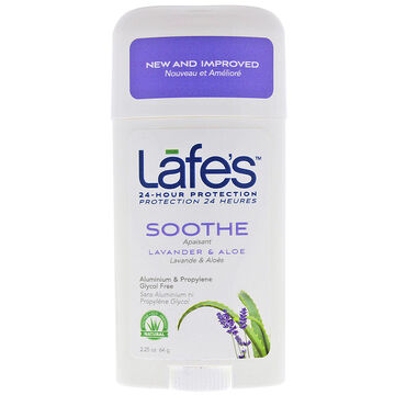 Lafe's Soothe Deodorant Stick - Lavender & Aloe - 64g