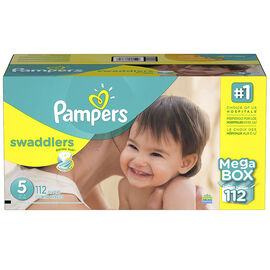 Pampers Swaddlers Diapers - Size 5 - 112s