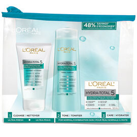 L'Oreal Hydra-Total 5 Ultra-Fresh Kit - 3 piece