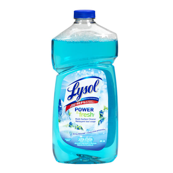 Lysol Multi Surface Cleaner - Spring Waterfall - 800ml