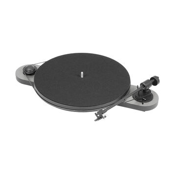 Pro-Ject Elemental Turntable - Black/Silver - PJ50439146