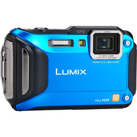 Panasonic LUMIX DMCTS5A - Blue