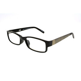 Foster Grant Derick Reading Glasses with Case - Black/Gold - 2.50