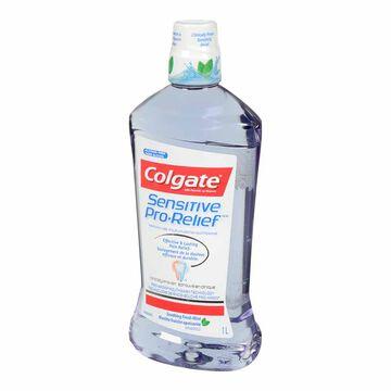 Colgate Sensitive Pro-Relief Mouthwash - Soothing Fresh Mint - 1L