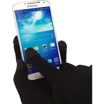 Logiix Smart Glove Plus for All Touch Screens -  Small/Medium - Black - LGX10512