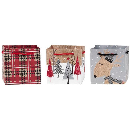 Plus Mark Lodge Square Gift Bag - Petite - Assorted