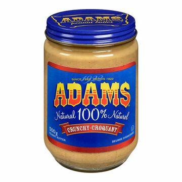 Adams Peanut Butter - Crunchy - 500g