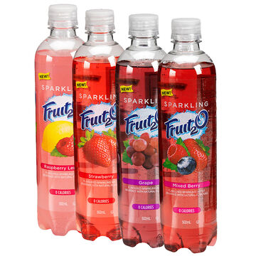 Sparkling Fruit2O - Grape - 502mL
