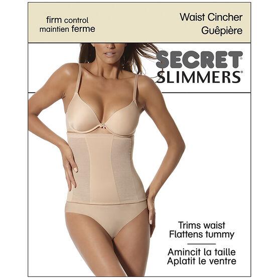 Secret Slimmers Waist Cincher - Medium - Black