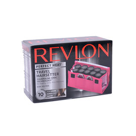 Revlon Perfect Heat Travel Hair Setter - Pink - 10 piece