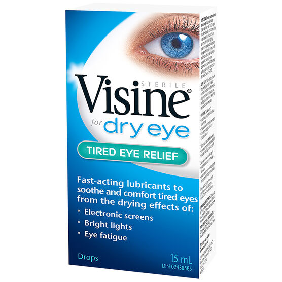 Visine Dry Eye - Tired Eye Relief - 15ml