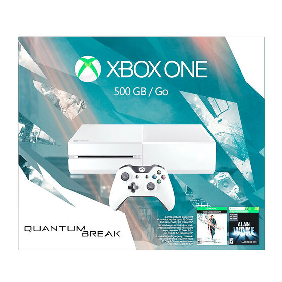 Xbox One 500GB Console and Quantum Break
