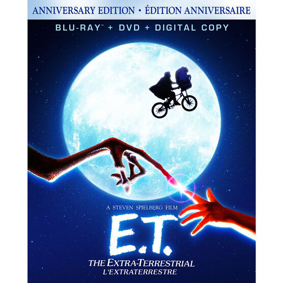 E.T. The Extra-Terrestrial - Blu-ray + DVD + Digital Copy