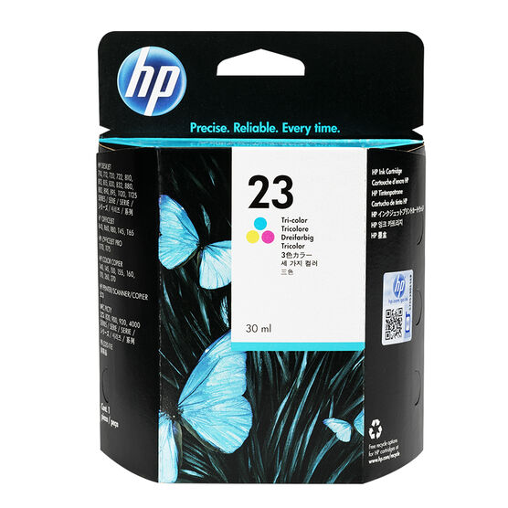 HP 23 720/722/890 Ink Cartridge - Tri-Colour - C1823DC