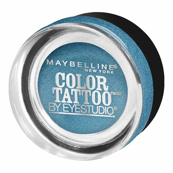 Maybelline Eye Studio Color Tattoo 24HR Cream Gel Eyeshadow - Tenacious Teal