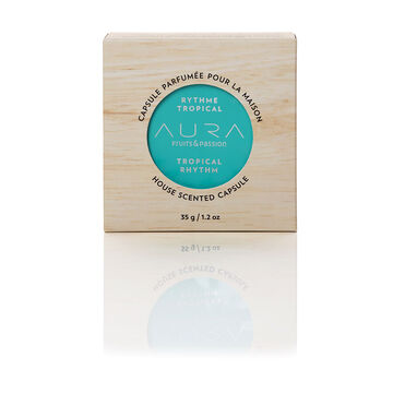 Fruit & Passion Aura House Scented Wax Capsule - Tropical Rhythm