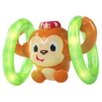 Bright Starts Roll and Glow Monkey Toy