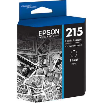 Epson 215 Standard-Capacity Ink Cartridge - Black - T215120