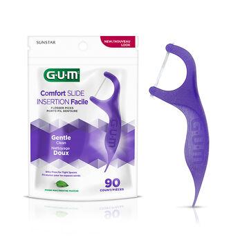 G.U.M. Comfort Slide Flossers - 90's