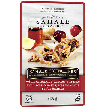 Sahale Crunchers Snack - Almond and Cherry - 113g